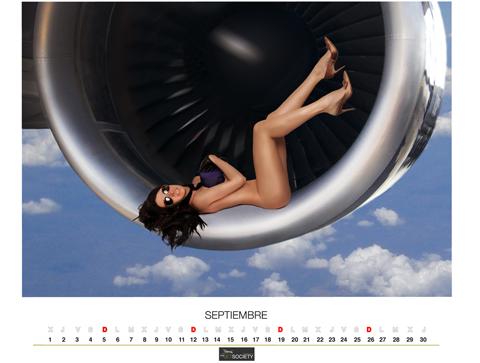 Самолеты и голые